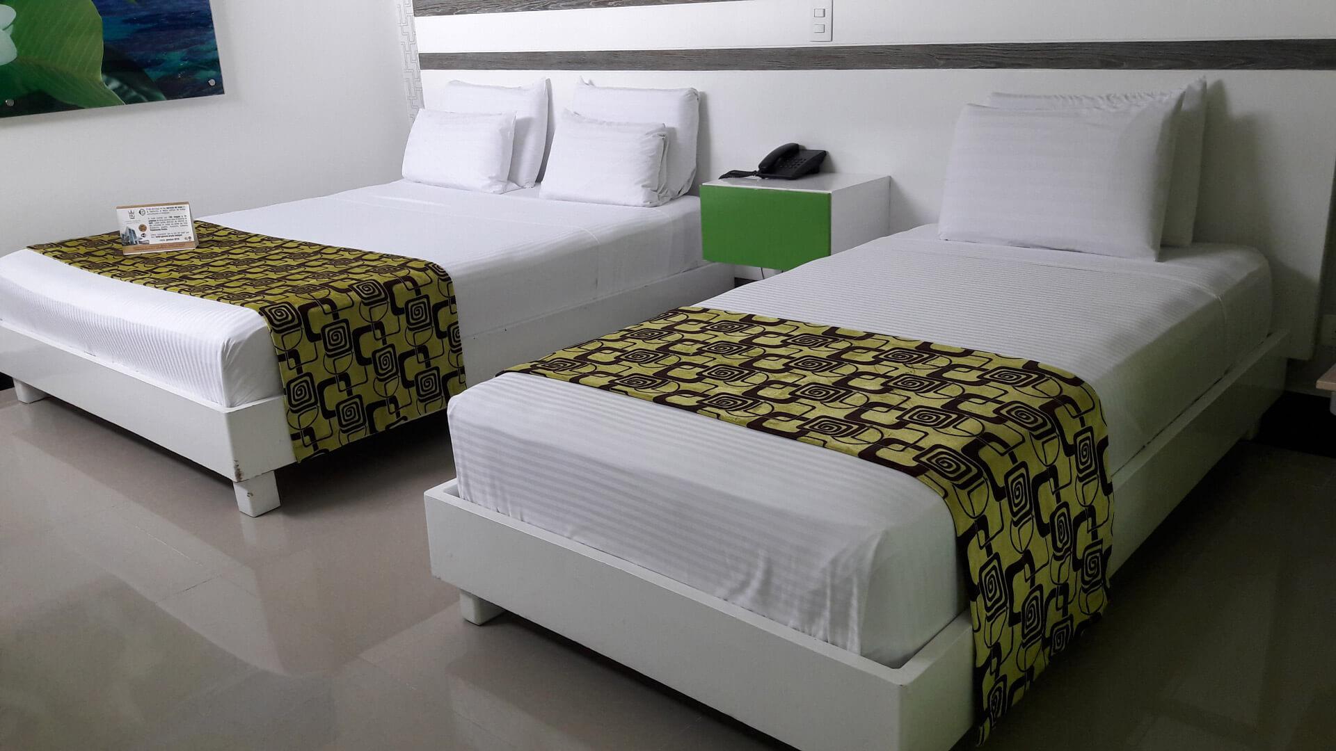 Habitación doble - hotel Génova Prado