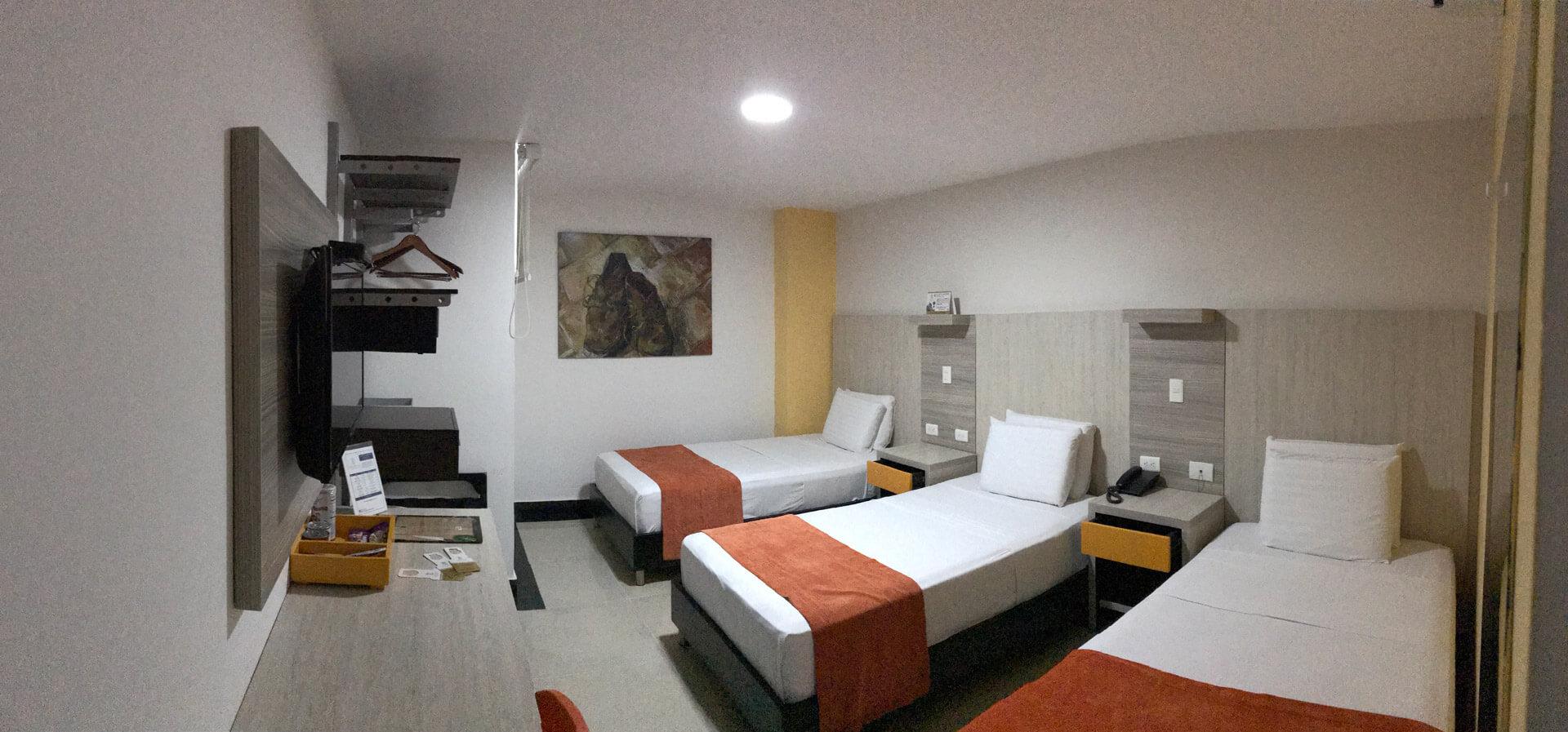Hotel con habitación para tres o más personas - hotel Génova Prado