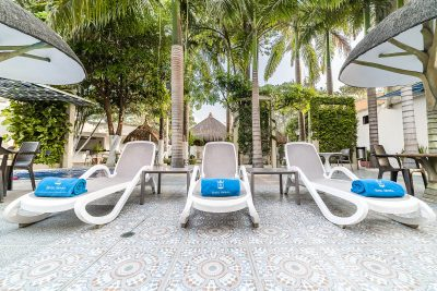 Vista general - servicio piscina Hotel Génova Centro